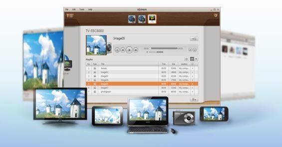 Медиасервер Samsung AllShare