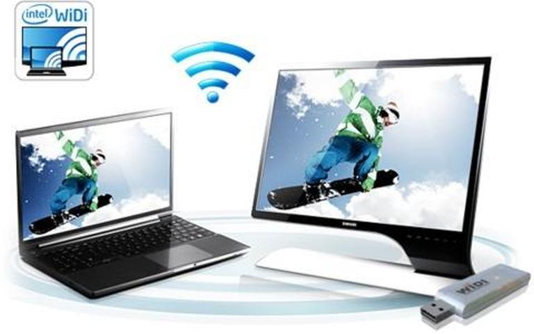 Прямое подключение телевизора через WiDi/Miracast