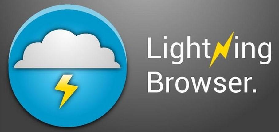 Быстрый, но простой в оформлении Lightning Browser